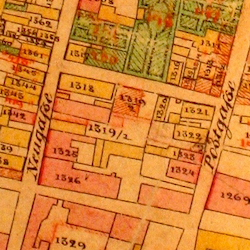 Brody Town Cadastral Map 1844