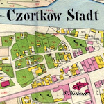 Czortków Center Cadastral Map 1859