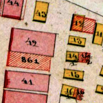 Grzymałów Center Cadastral Map 1861 (Revised)