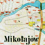 Mikołajów Center Cadastral Map 1888