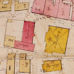 Rohatyn Town Cadastral Map 1846