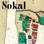 Sokal Center Cadastral Map 1854