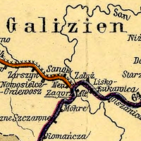 Artaria Railway and Postal Communications Map of Austria-Hungary 1887