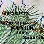 Raffelsperger Map of Galicia and Bukovina 1846