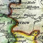 Weiland Map of Galicia and Bukovina 1832