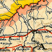 Hartleben's Travel Guide Map of Galicia 1914