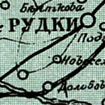 Russian Survey Map of Eastern Galicia 1915