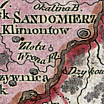 Liechtenstern Map of the Two Galicias 1804 (Alternate)