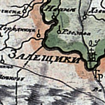 Russian Map of Galicia ca. 1810