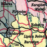 Administrative and Transport Map of Interwar Poland ca. 1927