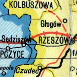 Romer & Wąsowicz Map of Interwar Poland ca. 1930