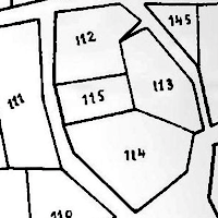 Czernowitz Town Map and Property Owner List 1782