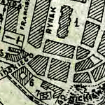 Stanisławów and Knihinin General Street Map 1919