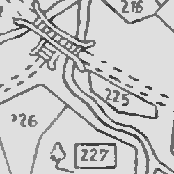 Łańcut Town Map and Property Owner List 1749