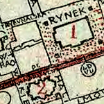 Lemberg (Lwów) General Street Map 1920