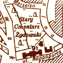 Lemberg (Lwów) General Street Map 1941