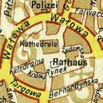 Tarnów General Street Map before 1944